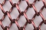 装飾的な金網の着色されたアルミニウムステンレス鋼の青銅