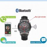 Bluetooth Smart Watch pour Android / Ios Phone Waterproof