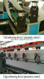 Máquina de papel de tecido facial Folding de relevo automático de 2 lanchas
