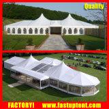 De sterke Tent die van de Partij van de Luifel van het Aluminium Hoge Piek in Tent Fastup installeren