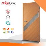 Entrada de madeira sólida para a peste exterior de porta interior