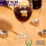 خمر مبرّد [سوس] 304 [ستينلسّ ستيل] يبرّد صخورة يرشف أحجار لأنّ يشرب صودا جانبا [وهيسكي] [ستونس] [إيس كب]