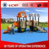 Жесткий пластиковый Kindgarden Huadong детский открытый детская площадка слайд-HD16-008A
