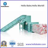 Tecla Semi-Auto enfardadeira de sucata Hidráulica Horizontal para resíduos de papel cartão