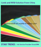 Standard Belüftung-Karte des Offsetdrucken-Cr80 0.76mm hergestellt in China