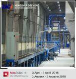 La línea de producción de placas de yeso resistente al agua de la planta de Mini Paneles de Yeso Machines
