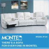 Sofá, casa moderna e mobiliário de sofá, poltrona reclinável sofá R12