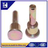 Supplier Copper/Colored Steel Slotted Step Rivets clouded