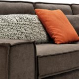 Sofá de la tela del diseño moderno de los muebles de la sala de estar (G7601A)