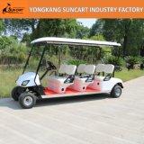 卸し売り電池式の6 Seaterのゴルフカート、6 Seaterの販売のための安い電気ゴルフカート