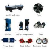 Refroidisseur d'eau refroidi par air industriel pour des composantes électroniques