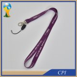 Púrpura personalizada móvil Lanyard Oficina correa para el cuello