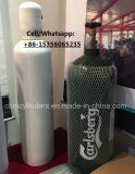 Cilindros de gás de alumínio médicos/industriais 10L do oxigênio