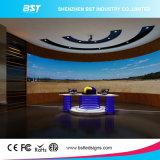 P5高い明るさ曲げられた屋内固定LEDのスクリーン---8