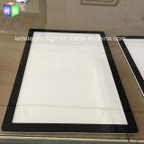 2017 Nueva caja de luz de cristal de ahorro de energía de la sección 6mm