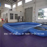 Piscine gonflable scellée avec trampoline Rectangle piscine gonflable (AQ3208-2)