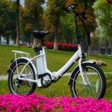 Bicicleta Elétrica Folding Bicicleta Ebike Dobrável 250W De Alta Qualidade