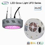 Ahorro de energía 46*3W LED UFO crecer la luz para el cultivo comercial