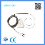 Il tipo termocoppia di Schang-Hai Feilong del K Sondare-Flette l'acciaio inossidabile inguainato