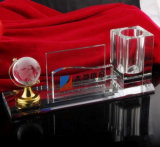 Optisches Glas-Kristallpinsel-Potenziometer-preiswerter Kristallfeder-Halter