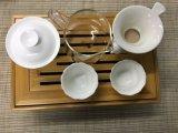中国Teawareのタケ茶皿の中国の茶アクセサリ