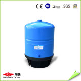 tanque de pressão da água azul do carrinho 20g no sistema do RO