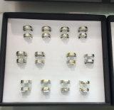 반지의 쟁반의 호화스러운 까만 전시 쟁반 결혼 반지의 전시 쟁반 12pairs