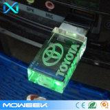 3D Aandrijving van de Flits van de Stok USB van de Aandrijving van het Geheugen van het Kristal USB 2.0 van het Embleem