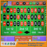 Машина электронной рулетки касания экрана 12 игроков играя в азартные игры