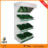 Moderne Metallbildschirmanzeige-Fach-Supermarkt-Bildschirmanzeige-Zahnstange