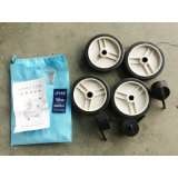 компрессор воздуха насоса 90L 3X600W миниый Oilless портативный молчком