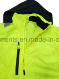 5 в 1 людей одеяния куртки безопасности Hi-Viz Workwear отражательного защитного водоустойчивом