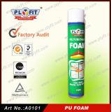 Folga de janelas e portas de spray de enchimento de espuma de poliuretano PU