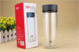 Fles Van uitstekende kwaliteit van het Water van het Glas van de Muur Fb1015-280 280ml van Fuguang de Dubbele