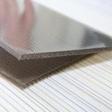 Folha gêmea plástica de cristal da cavidade da parede do policarbonato para o Sunroom