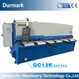 Гидровлическая режа машина QC12y-8*3200 с системой E21s Nc для вырезывания листа металла