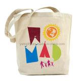 Logos personnalisés de la promotion du coton recyclé Sacs à main