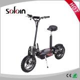Scooter électrique de mobilité sans frottoir pliable du moteur 800W de ville (SZE500S-2)
