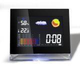 Часы станции погоды крытые и напольные цвета LCD с Temp&Humidity
