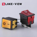 인쇄 기계를 위한 램프를 가진 힘 로커 스위치