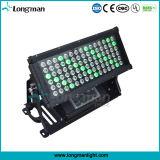 De alta potencia al aire libre RGBAW 450W LED arandela de la pared la luz del disco