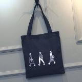 O estilo por atacado do punho projeta o saco da lona do algodão da cópia do logotipo