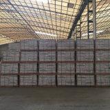 Mattonelle lustrate porcellana di pietra di superficie lucida grigia delle mattonelle di colore per il grande progetto