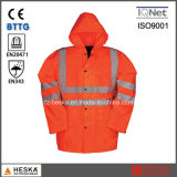 Защитный Hi Vis Parka куртка мужская одежда для лучшей видимости