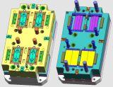 Пластмасса нестандартной конструкции фабрики разделяет пластичную прессформу впрыски
