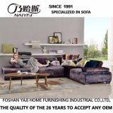 Sofá de la tela del diseño moderno de los muebles de la sala de estar (G7607A)