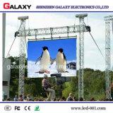 Afficheur LED P4/P5/P6/mur/écran/panneau/signe/panneau de location polychromes d'intérieur extérieurs pour l'exposition, étape, conférence