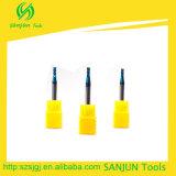 HSS 두 배 각 맷돌로 가는 절단기 또는 탄화물 끝 끝 선반 절단기 제조자
