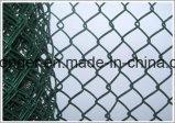 PVC 입히는 체인 연결 철망사 담 또는 다이아몬드 철망사