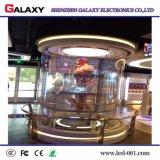 Pantalla de visualización de LED P5-8/el panel transparentes con alto brillo